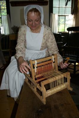 Weaving in 1850