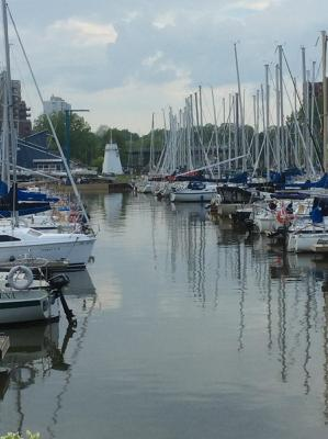 Oakville Harbour and Lighthouse