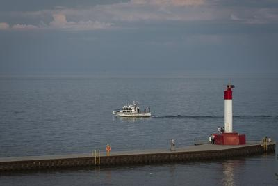 Police Boat & Lighthouse