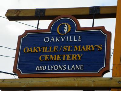 Oakville/St. Mary's Cemetery