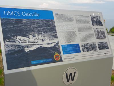 HMCS Oakville Information Station