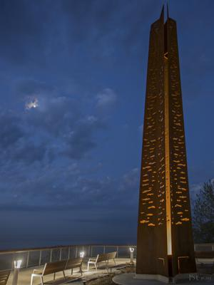 Standing Tall - Tannery Park Observation Deck