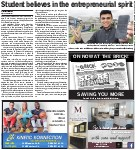 Student believes in the entrepreneurial spirit