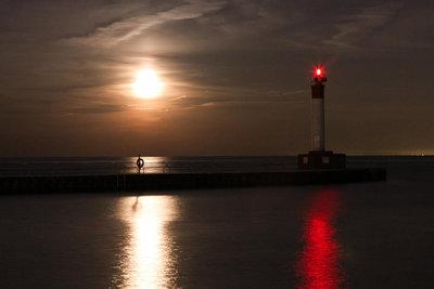 Oakville Night Pier