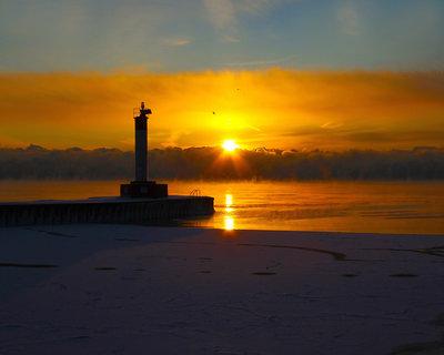 Sunrise 40 Below