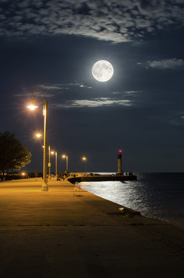 Watching Full Moon