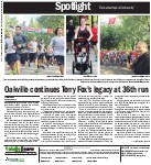 Oakville continues Terry Fox's legacy at 36th run