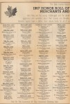 Honor roll of merchants and business institutions