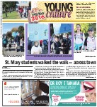 St. Mary students walked the walk - across town