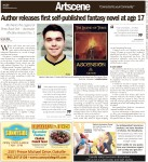 Author releases first self-published fantasy novel at age 17: Albi Nani's The Legend of Three, Book One: Ascension offically released Dec. 1