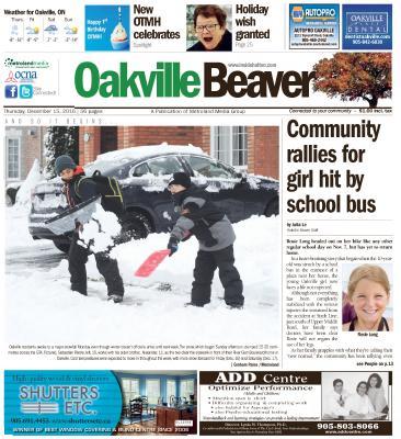 Oakville Beaver, 15 Dec 2016