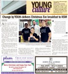 Young culture: Change by YOUth delivers Christmas Eve breakfast to KSM