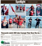 Thousands watch 800 take Courage Polar Bear Dip Jan. 1