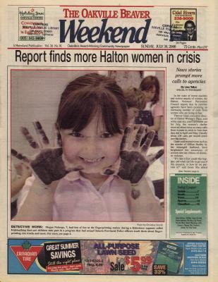 Oakville Beaver, 30 Jul 2000