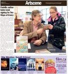 Oakville author holds book signing for Two Maps of Emery