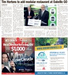 Tim Hortons to add modular restaurant at Oakville GO