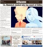 T.A. Blakelock student wins top award at Eddies