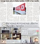 Average home price in Halton tumbles $156K in four months