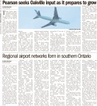 Regional airport networks form in southern Ontario