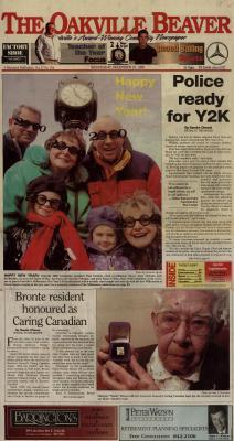 Oakville Beaver, 29 Dec 1999