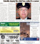 Oakville deputy fire chief has called it a career