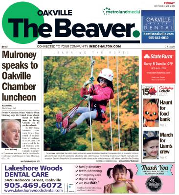 Oakville Beaver, 20 Oct 2017