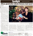 African grandmother attends Oomama book launch