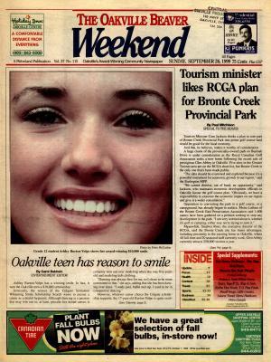 Oakville Beaver, 26 Sep 1999