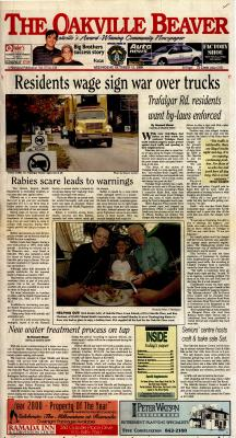 Oakville Beaver, 13 Oct 1999