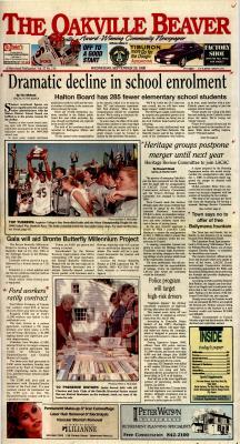 Oakville Beaver, 29 Sep 1999