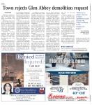 Town rejects Glen Abbey demolition request