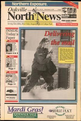 Oakville North News (Oakville, Ontario: Oakville Beaver, Ian Oliver - Publisher), 15 Jan 1993
