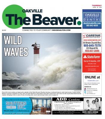 Oakville Beaver, 19 Apr 2018