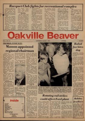 Oakville Beaver, 1 Aug 1973