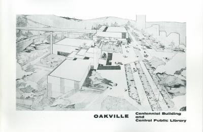 Oakville Centennial Building and Central Public Library