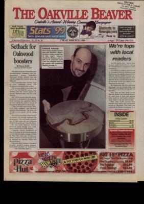 Oakville Beaver, 26 Mar 1999