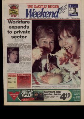 Oakville Beaver, 11 Apr 1999