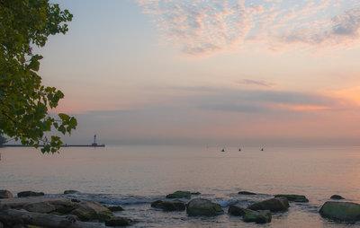 Kayaking at Dawn