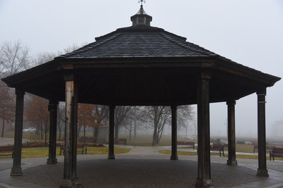 A Misty Morning at Bronte Harbourfront