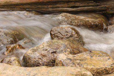 Restful Rocks Rushing Rapids