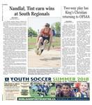 Nandlal, Tint earn wins at South Regionals