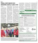 Federal Sport Minister pays Burlington, Oakville clubs a visit