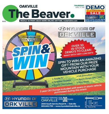 Oakville Beaver, 11 Apr 2019