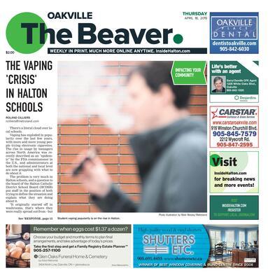Oakville Beaver, 18 Apr 2019