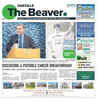 Oakville Beaver, 25 Apr 2019