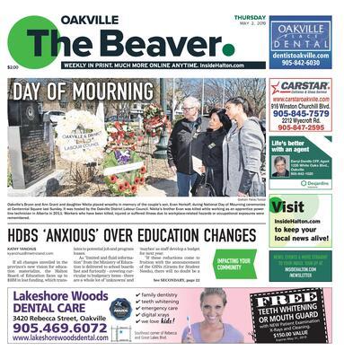 Oakville Beaver, 2 May 2019