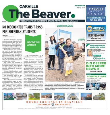 Oakville Beaver, 9 May 2019