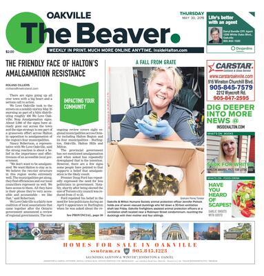 Oakville Beaver, 30 May 2019