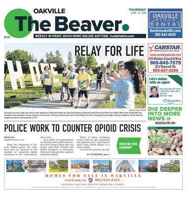 Oakville Beaver, 13 Jun 2019