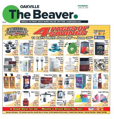 Oakville Beaver, 20 Jun 2019